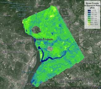 NNSA Conducts Background Aerial Radiation Assessment Survey of ...