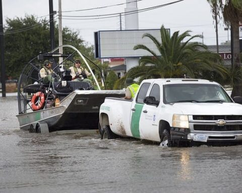 emergency responders in Hurricane Harvey