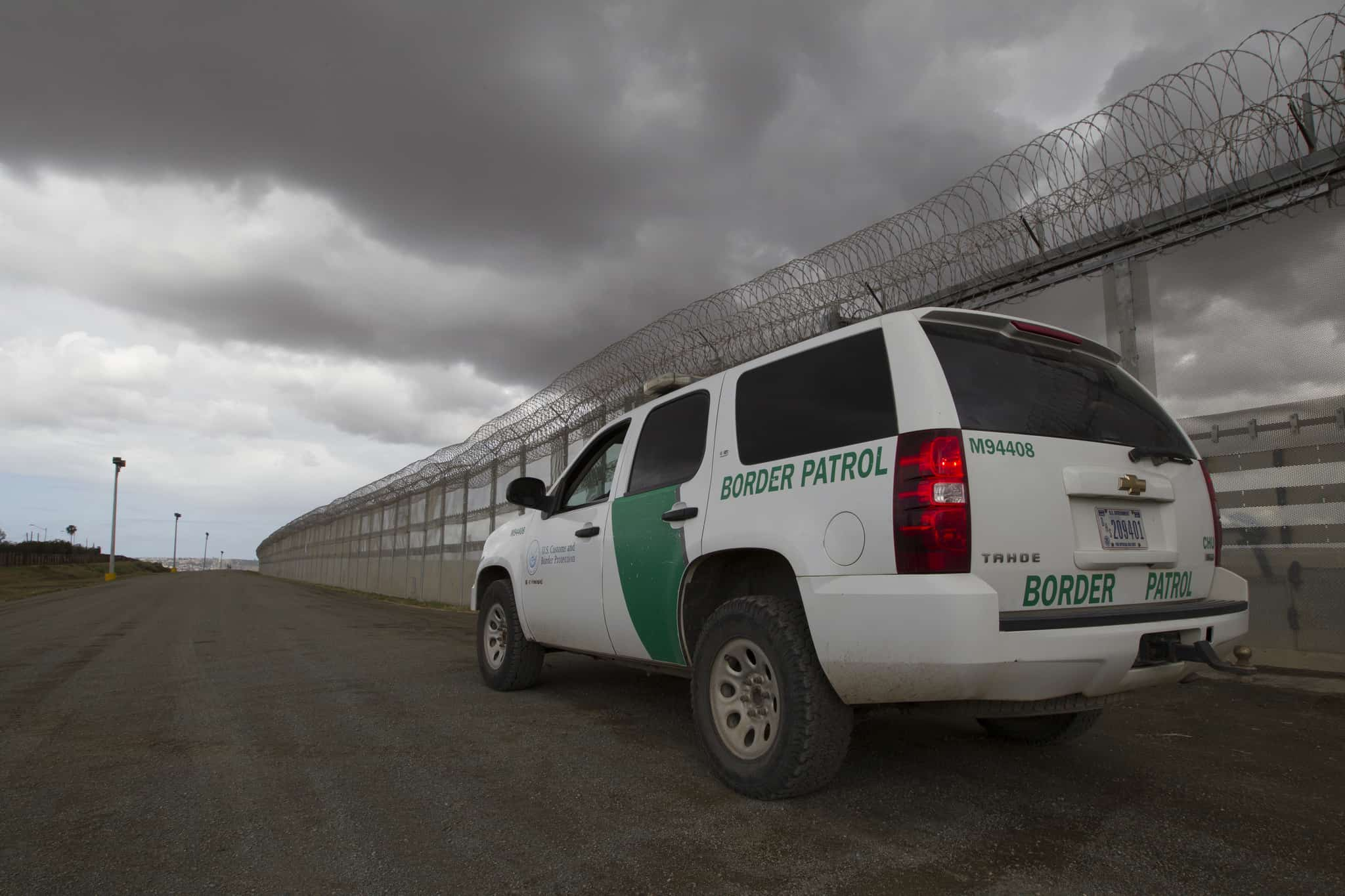 border patrol watches for illegal crossing tijuana