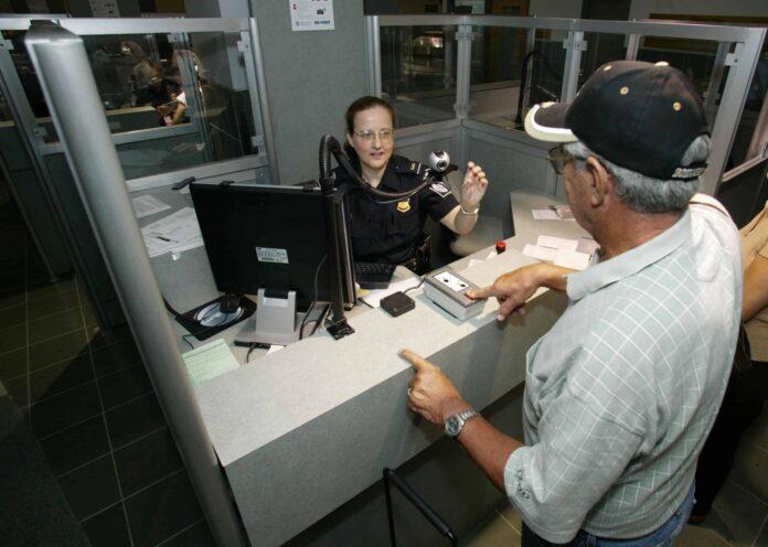 CBP biometrics screening