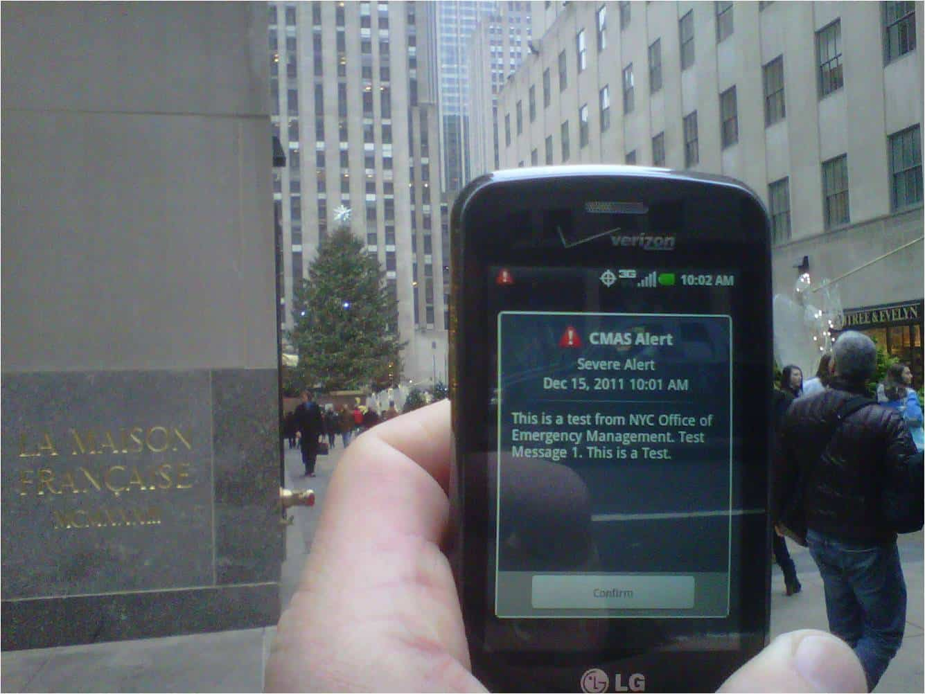 Nationwide Emergency Alert Test Today on Cell Phones, TV and