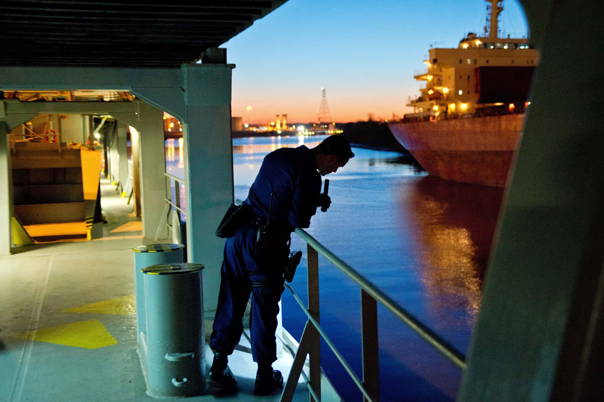 Building Better Port Security Through Global Training to