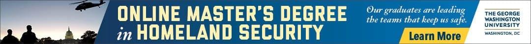Online Master's Degree in Homeland Security - George Washington University