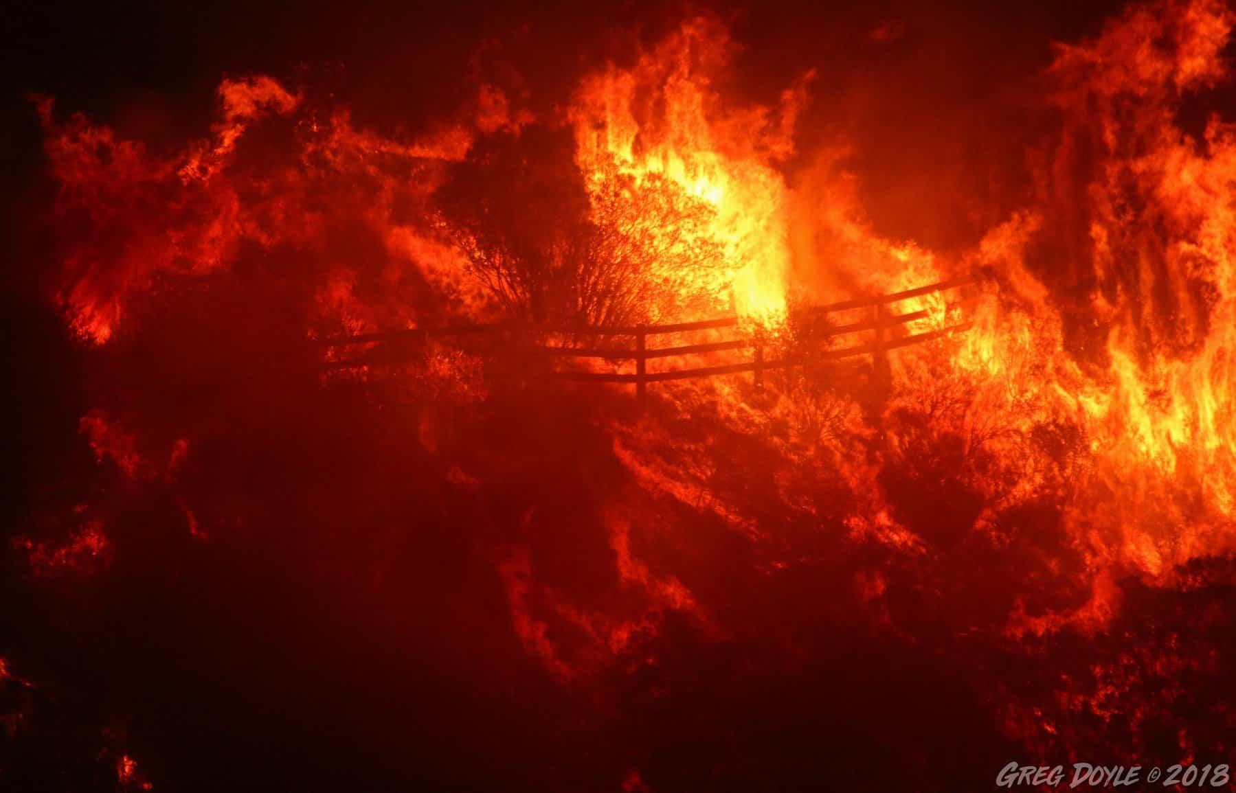 HST Woolsey Fire 2018 Greg Doyle
