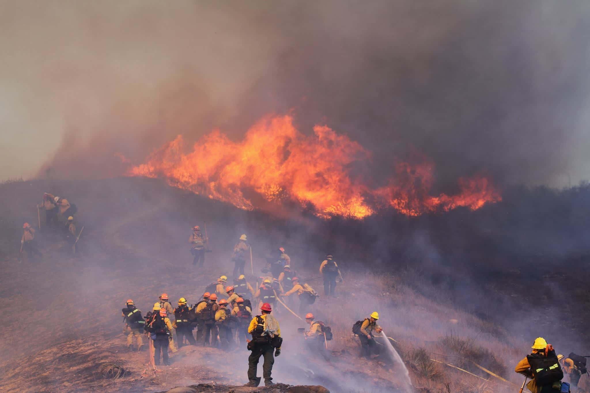 HST Woolsey Fire firefighters Greg Doyle