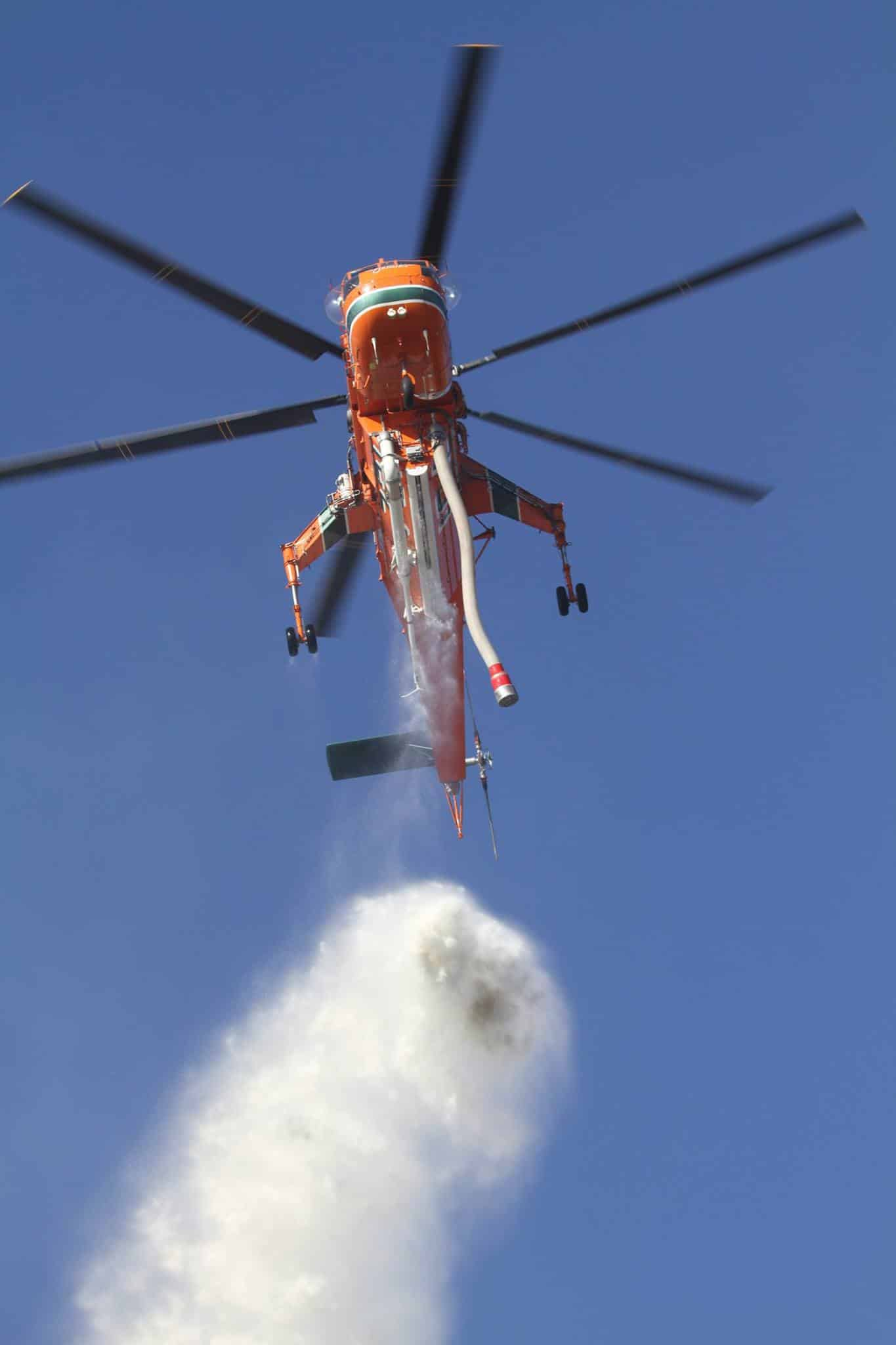 HST Woolsey Fire helicopter water Greg Doyle