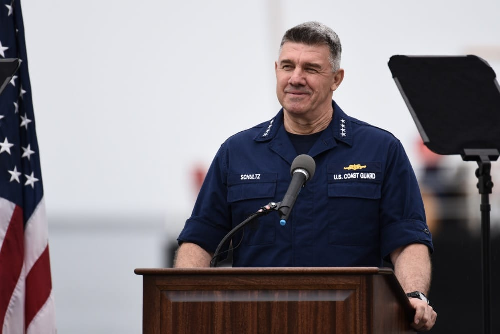 Coast Guard Commandant Adm. Karl Schultz