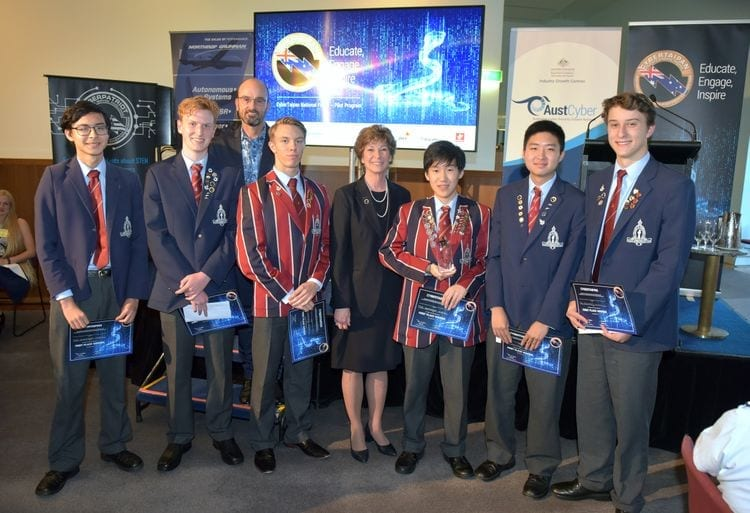 Young People Use Cyber Skills to Win Northrop Grumman's Challenge