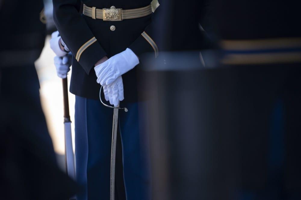 pentagon honor cordon