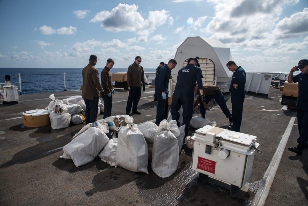 Coast Guard Cutter Hamilton marijuana