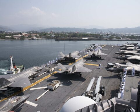 USS Wasp philippines exercise
