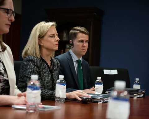 Secretary of Homeland Security Kirstjen Nielsen visits Honduras