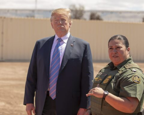 President Donald Trump visits calexico