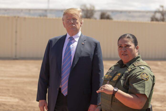President Donald Trump visits calexico
