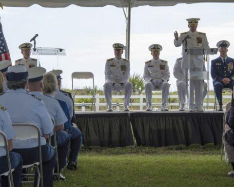 coast guard change of command jacksonville