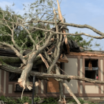 Dayton, Ohio, tornado damage