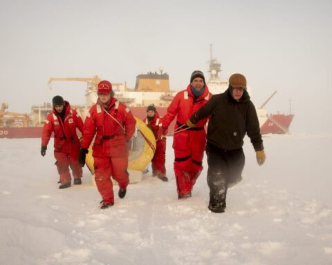 coast guard healy arctic research
