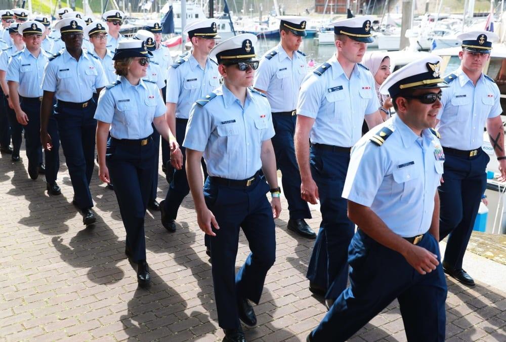 U.S. Coast Guard Academy cadets