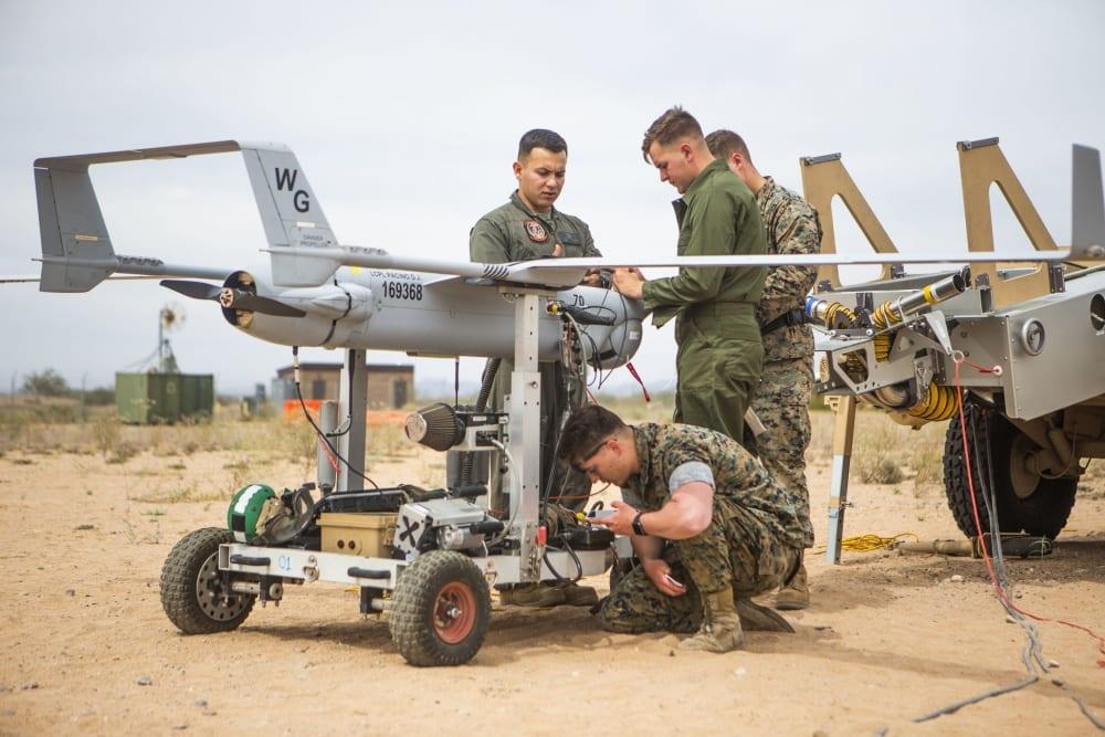 RQ-21A Blackjack unmanned aerial surveillance