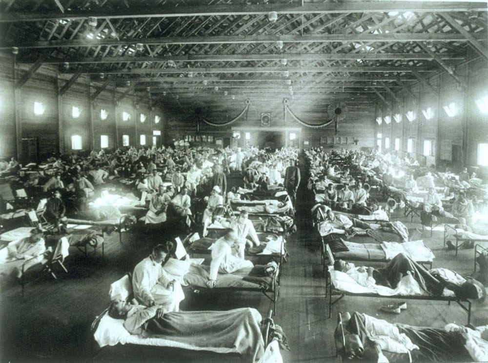 influenza pandemic 1918