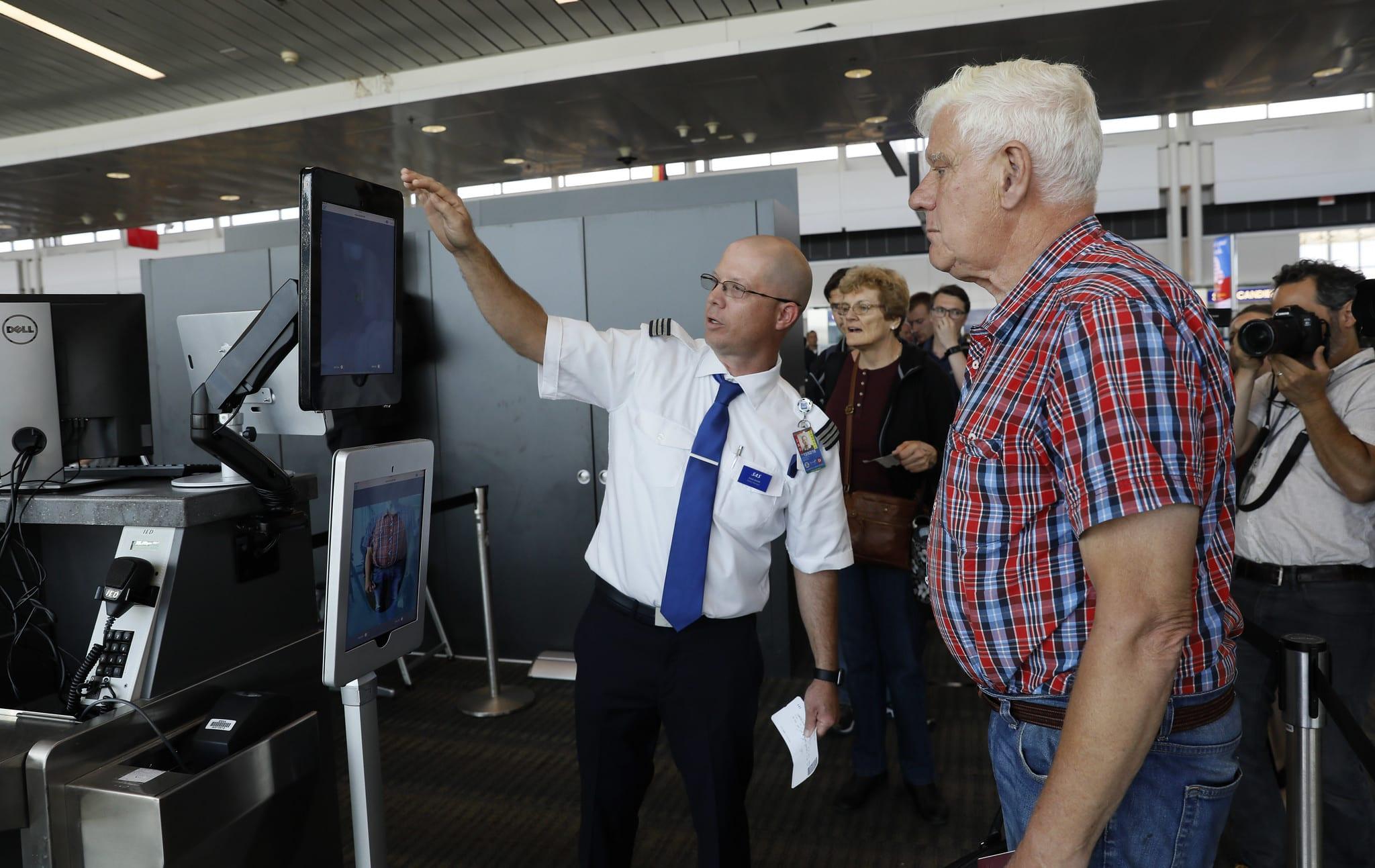 facial recognition biometrics dulles