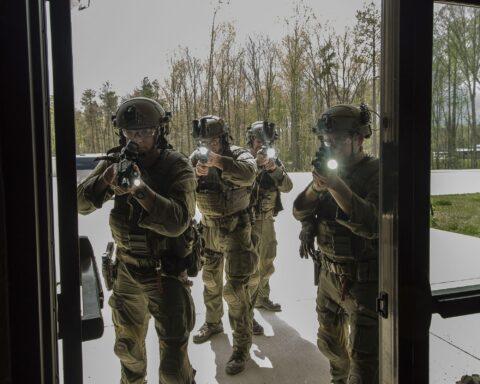 FBI Hostage Rescue Team training