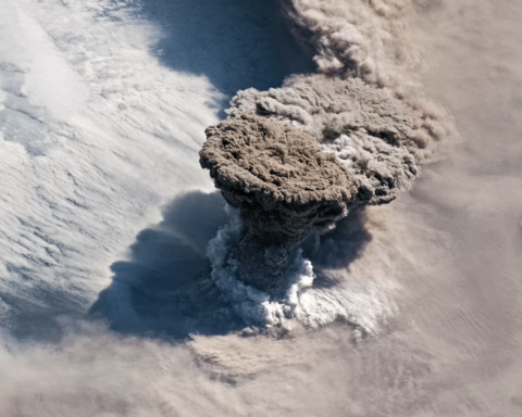 volcano Raikoke