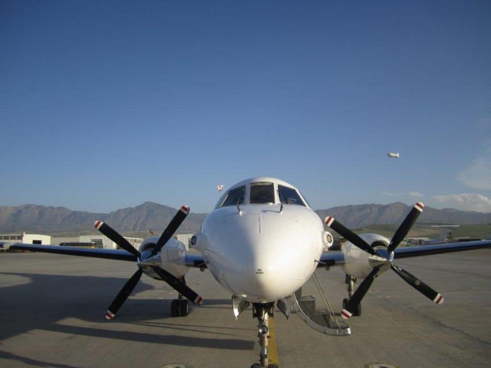 449th Theater Aviation Brigade's C-26 Metroliner