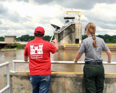 U.S. Army Corps of Engineers flooding
