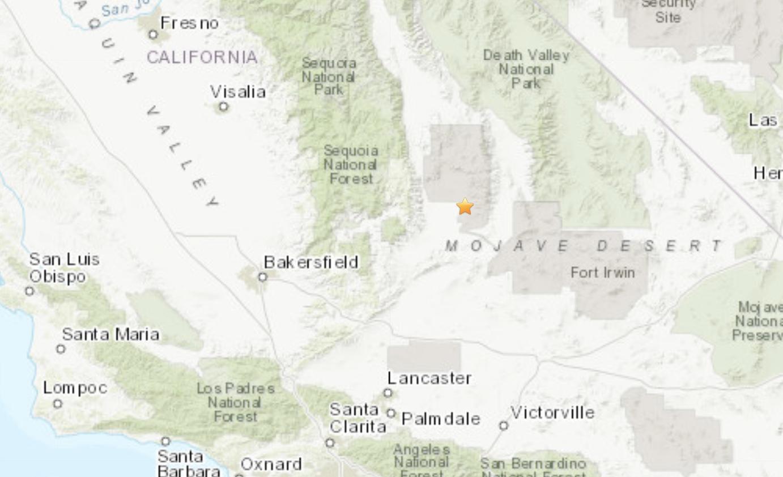 china lake california map July 4 Tremor Was Just A Foreshock 7 1 Quake Hits Navy S China Lake Base Homeland Security Today china lake california map