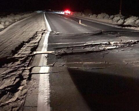 trona earthquake