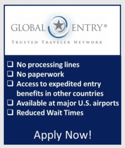 Global Entry ad