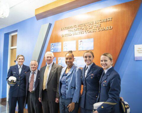 Six New Inductees in U.S. Coast Guard Academy's Hall of Heroes