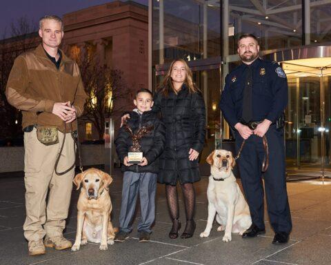CBP and U.S. Marshals Service K9s Honor Brady Snakovsky, Founder of Brady's K9 Fund