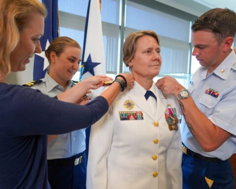 Four-Star Adm. Fagan Makes History with Installation as USCG Vice Commandant